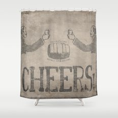 Cheers! Shower Curtain