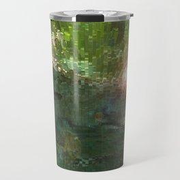 Crepe Myrtle In 3-D v.2 Travel Mug
