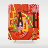 health Shower Curtains featuring Health by Sartoris ART