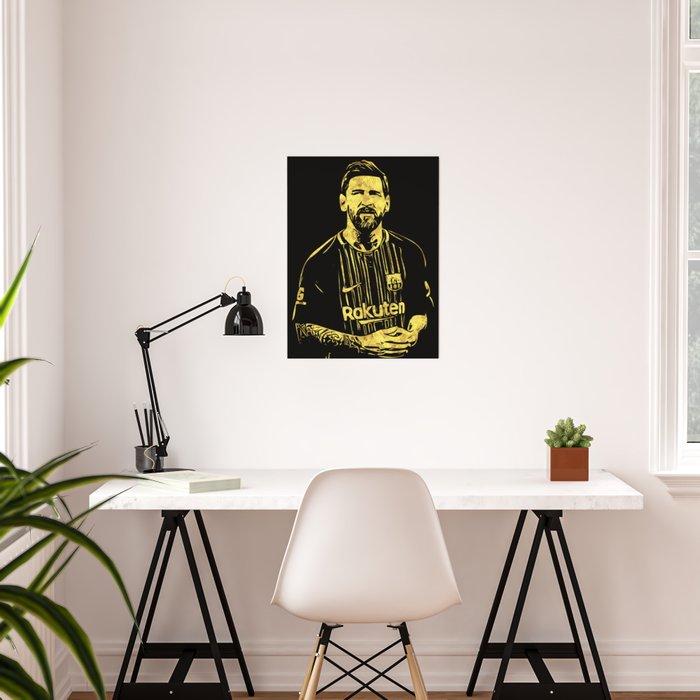 Leo Messi Fan Art Poster