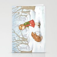 lucy Stationery Cards featuring Lucy by Amanda Francey