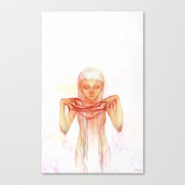 ghostiing Canvas Print