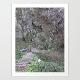 Northern California Art Print