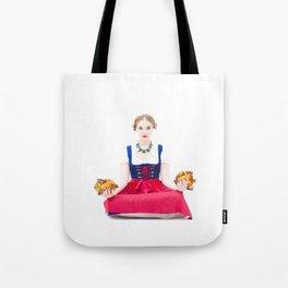 Lola Chicken Buddha Tote Bag