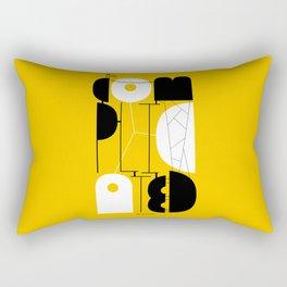 It's complicated Rectangular Pillow