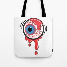 Bloody Eyeball Tote Bag