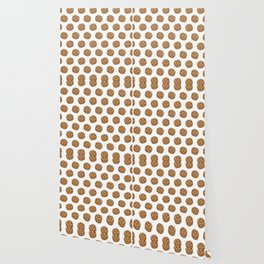Chocolate Chip Cookies Pattern Wallpaper