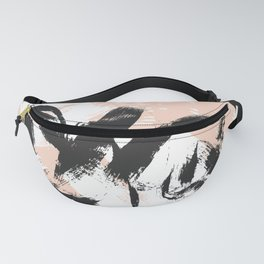Loose Brush Strokes Fanny Pack