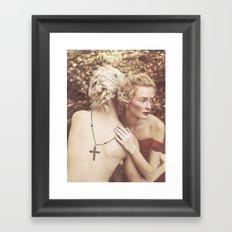 Elena & Dylan Framed Art Print