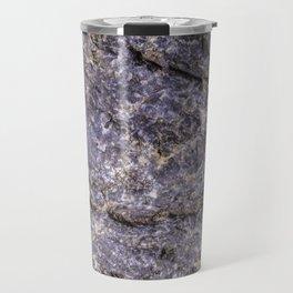 Lava Stone Texture Travel Mug