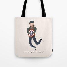 Bucky Barnes Tote Bag
