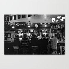 At the Pub Canvas Print