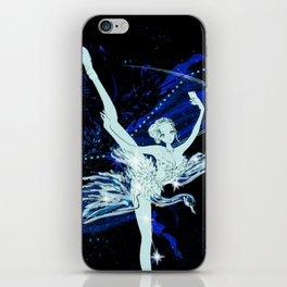 Cygnus / Leda and Swany iPhone Skin