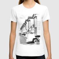 volkswagen T-shirts featuring Volkswagen Van by Rainer Steinke