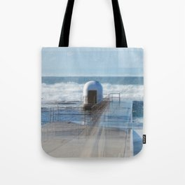 Merewether baths pumphouse Tote Bag