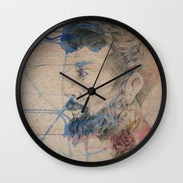 """""""My queen guy"""" Wall Clock"""
