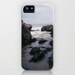 Dark and Rocky Coastline iPhone Case