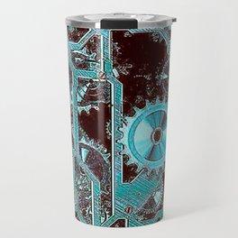 Steampunk,gears Travel Mug