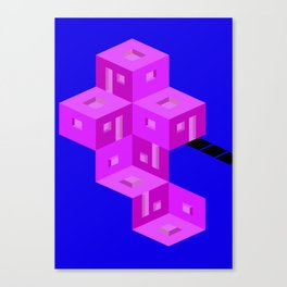 theres a home here inside Canvas Print