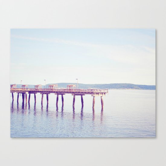 Ruston Way Canvas Print