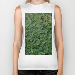 Arial tropical forest Biker Tank