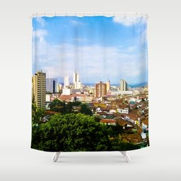 View Cali Valle del Cauca. Shower Curtain
