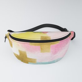 Three Wisemen Abstract Fanny Pack