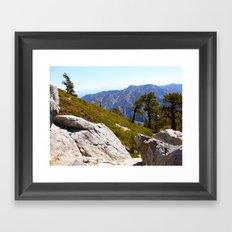Mount Baldy Framed Art Print