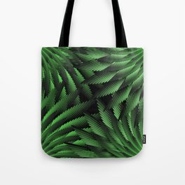 Green Fern Jungle Tote Bag
