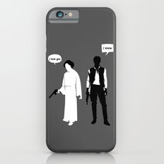 I Love You. I Know Slim Case iPhone 6s