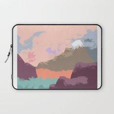 Pink Sky Mountain Laptop Sleeve