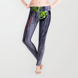 GoldFish In The Pond By Annie Zeno Leggings