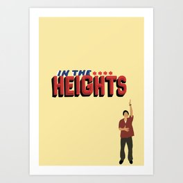 In the heights Art Print