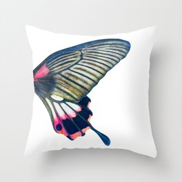 Butterfly right wing - find the left wing in my store :) Throw Pillow