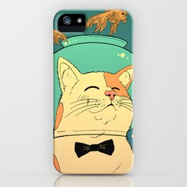 Cat's Dream iPhone Case