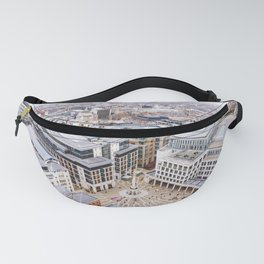 City View over London from St. Paul's Cathedral 2 Fanny Pack