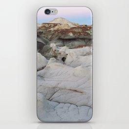 Badlands Blue Hour iPhone Skin