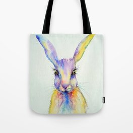 Hare Art Print Tote Bag
