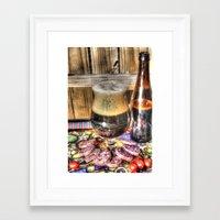 beer Framed Art Prints featuring Beer by Kent Moody
