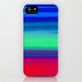 Rocket Blue iPhone Case