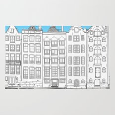 Dancing houses, Amsterdam Rug