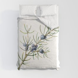 Christmas Tree Botanical Juniper Branch Comforters