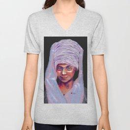 Sikh Girl Unisex V-Neck