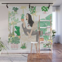 Plants are friends Wall Mural