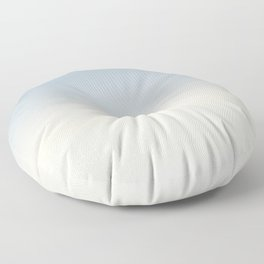 IVORY BONES - Minimal Plain Soft Mood Color Blend Prints Floor Pillow