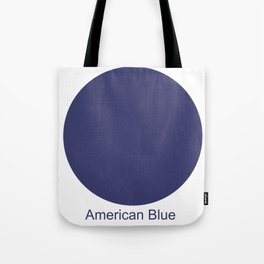 American Blue Tote Bag