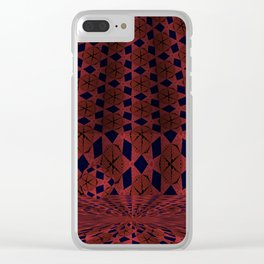 Soothing Orbital Voids 6 Clear iPhone Case