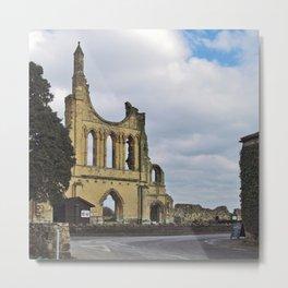 Byland Abbey 3 Metal Print