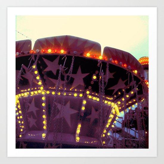 Or Was It a Dream (II)? ~ vintage carnival Art Print