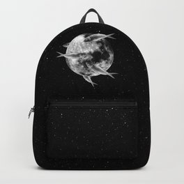fish thank with floathing moon Backpack